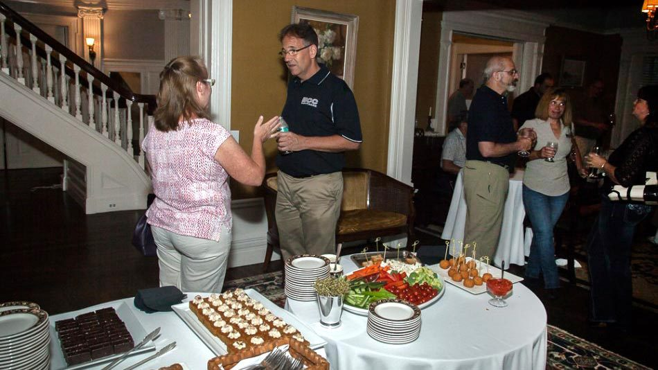 The kick-off Happy Hour at Century Club welcomed early guests to Rochester.