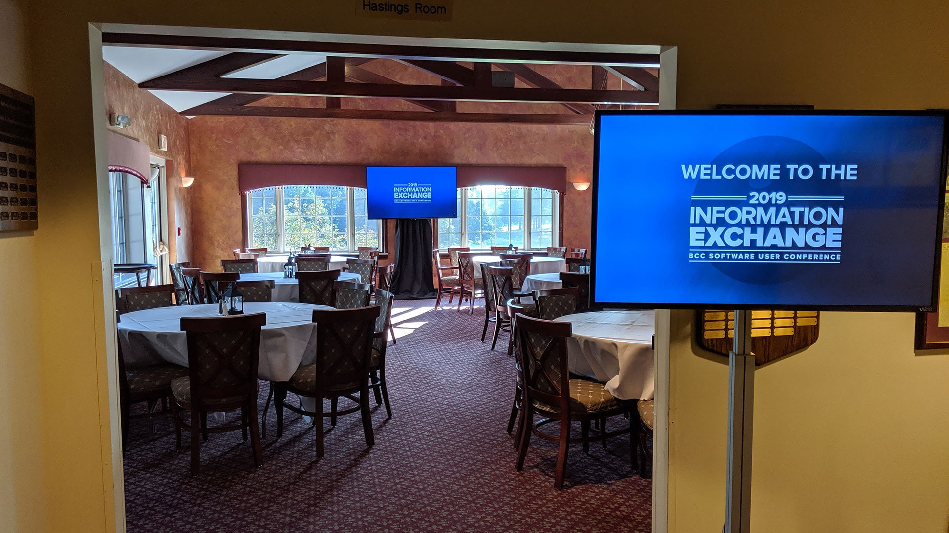 Welcome to Information Exchange 2019!